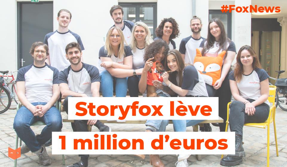 Une levée d'1 million d'euros et de grandes ambitions pour Storyfox